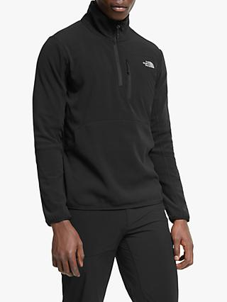The North Face Glacier Pro 1/4 Zip Fleece, TNF Black