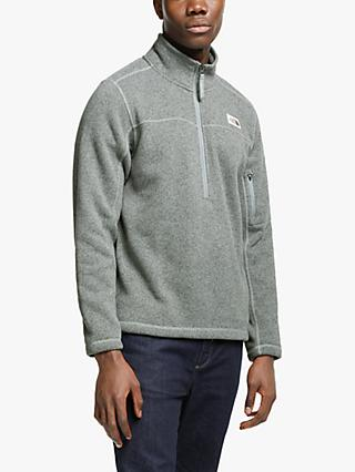 The North Face Gordon Lyons 1/2 Zip Men's Fleece Jacket, TNF Medium Grey Heather