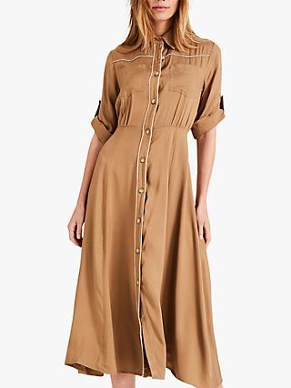 Damsel in a Dress Aricia Shirt Dress, Neutral