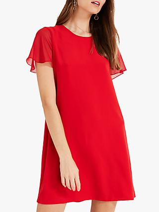 Phase Eight Madelyn Swing Dress, Red