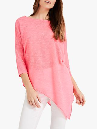 Phase Eight Pearla Fluro Top, Pink