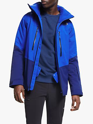 The North Face Chakal Men's Waterproof Ski Jacket, TNF Blue/Flag Blue