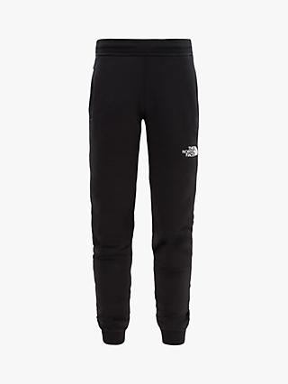 The North Face Boys' Fleece Joggers, Black