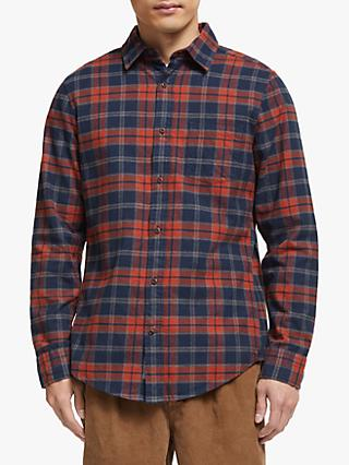 John Lewis & Partners Melange Check Regular Fit Shirt