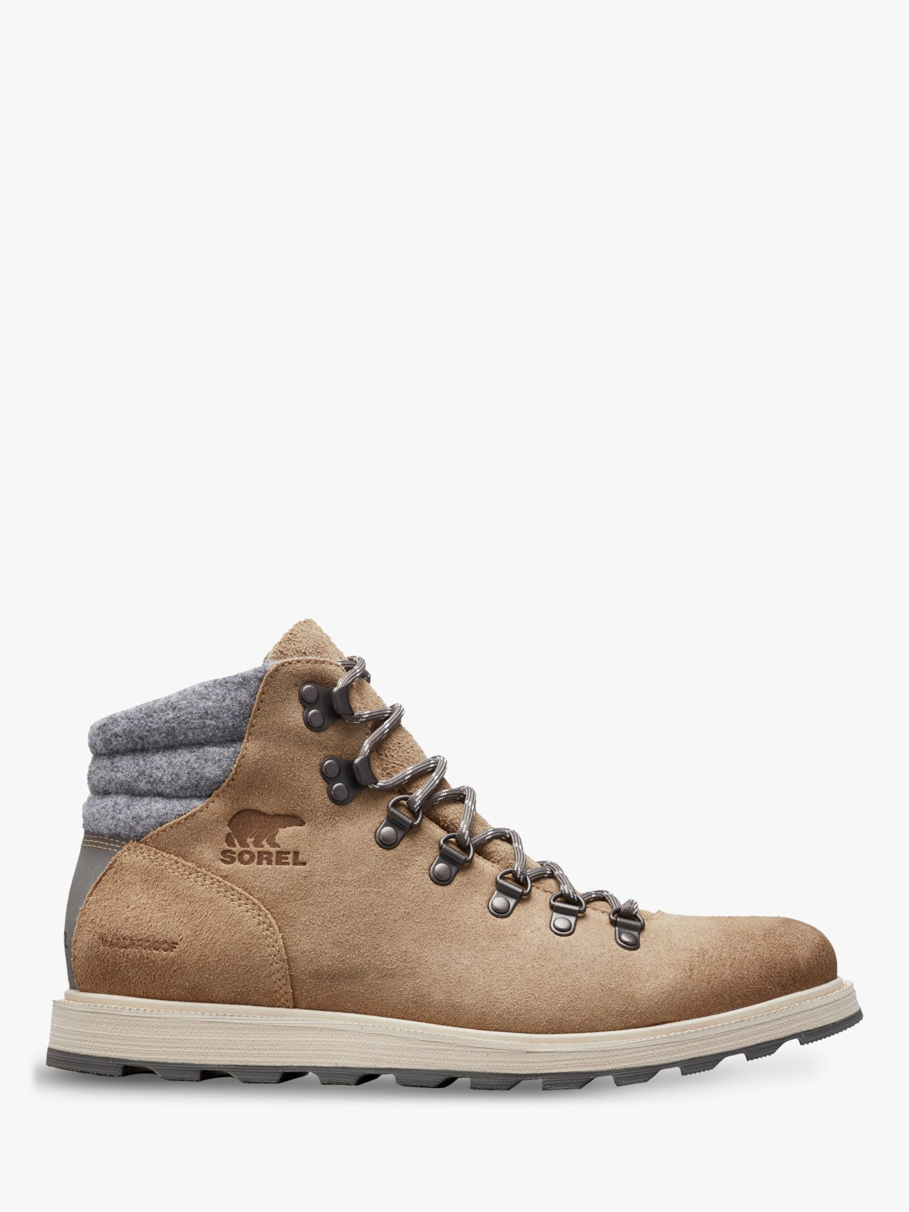 Sorel SOREL Madson Waterproof Hiker Boots, Oatmeal Quarry