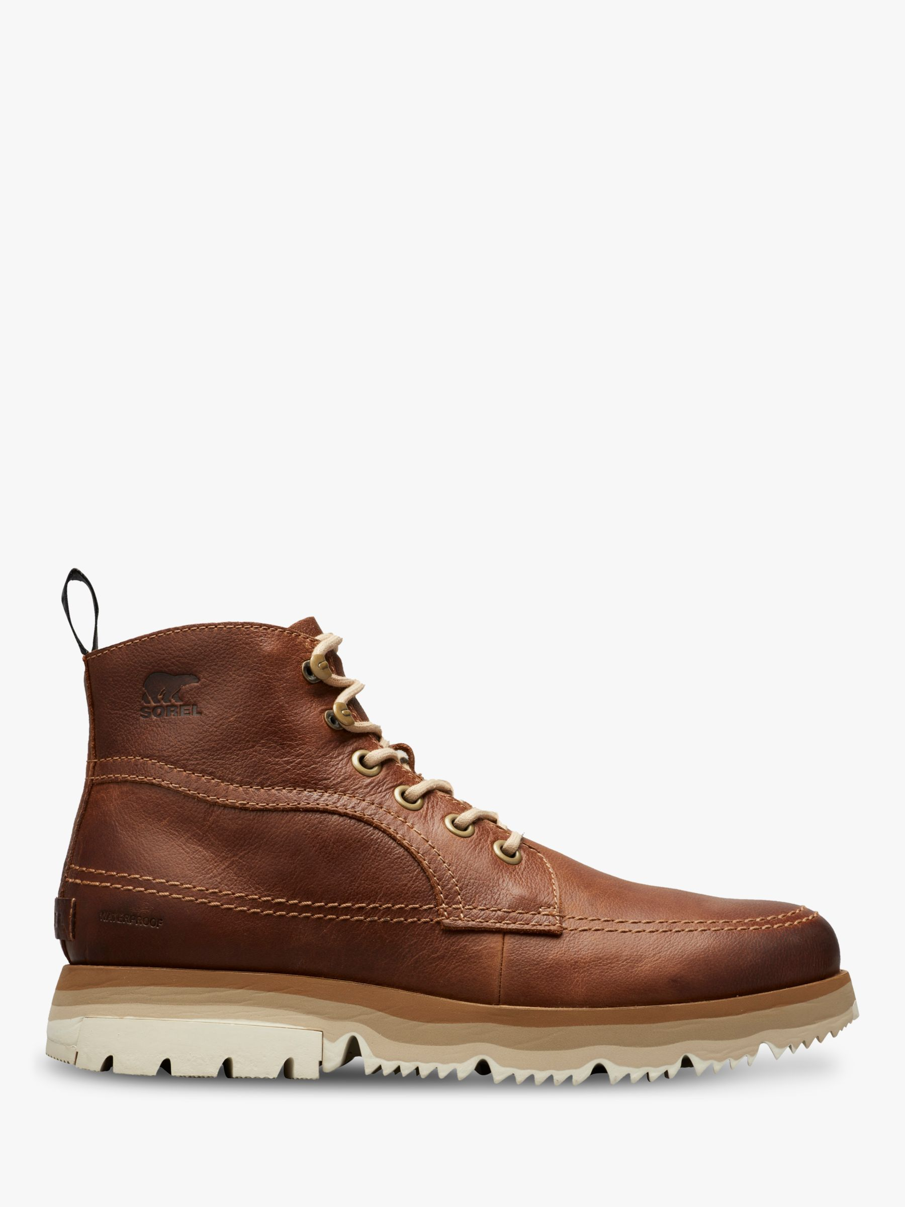 Sorel SOREL Atlis Leather Chukka Boots, Elk