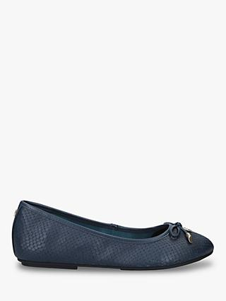 Carvela Magic Wide Fit  Leather Ballet Pumps
