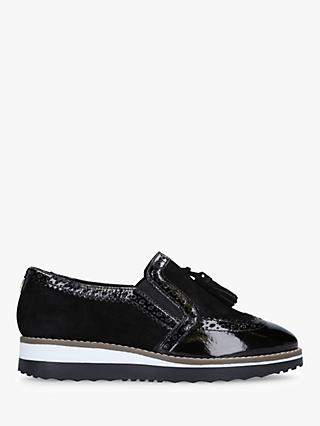 Carvela Maker Flatform Loafers, Black