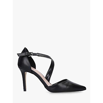 Carvela Kiln Two Part Stiletto Heel Court Shoes, Black