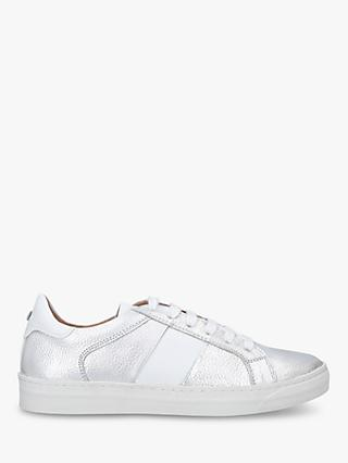 Carvela Jasmine Metallic Lace Up Trainers