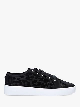 Carvela Jigsaw Low Top Trainers, Black