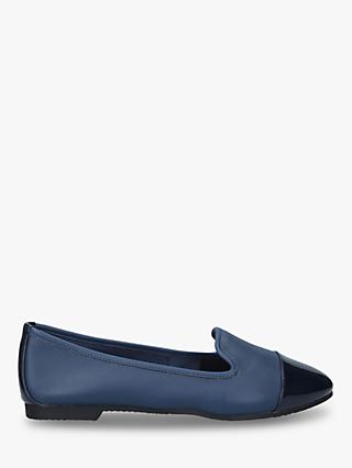Carvela Mercy Wide Fit Leather Flat Ballerina Loafers
