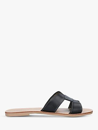Carvela Key Leather Slider Sandals