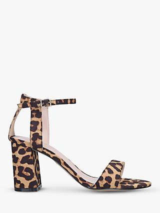 0a777973de6b Carvela Kiki Block Heel Sandals, Brown/Multi