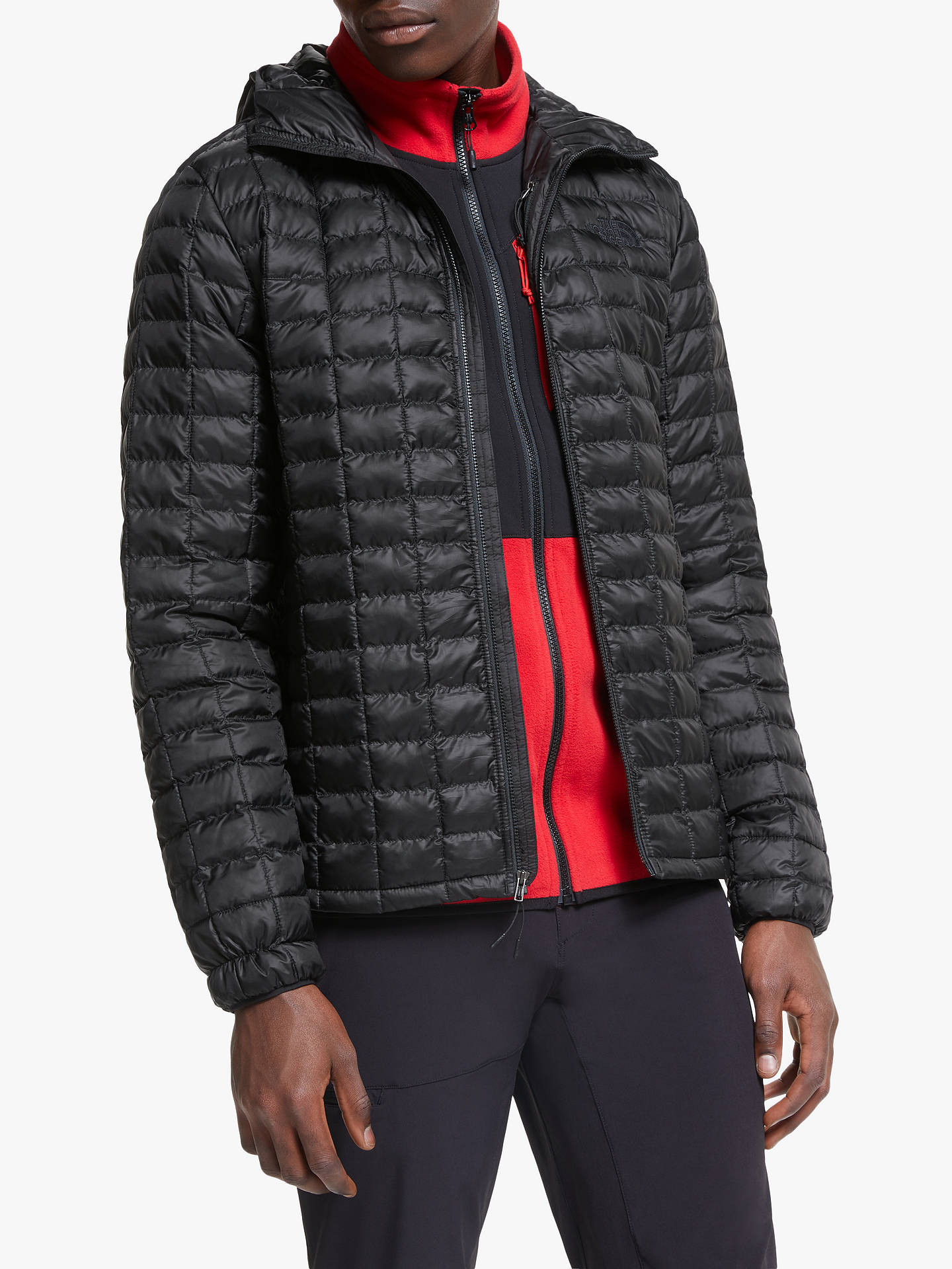 63f477282 The North Face Thermoball Eco Men's Hooded Jacket, TNF Black Matte