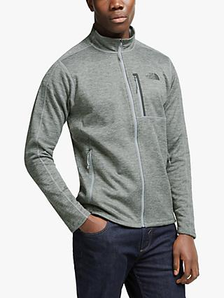 The North Face Canyonlands Full Zip Fleece, TNF Medium Grey Heather