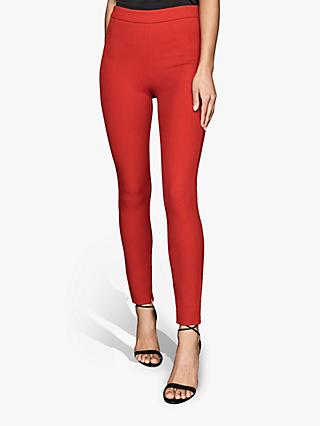 Reiss Tyne Skinny Trousers, Bright Red