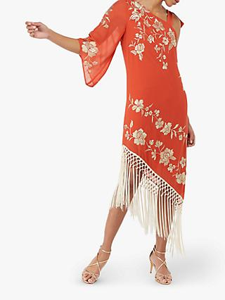 5e7c7198705 Monsoon Patsy Fringe Dress