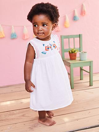 633de5b38c71 Mini Boden Baby Bird Embroidered Dress and Knickers