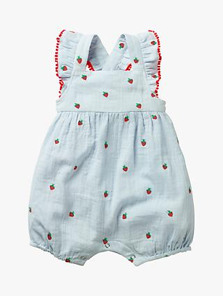 One-pieces Next Baby Boy Blue/white Summer Rompers/all-in-ones/playsuit Age Up To 3 Months