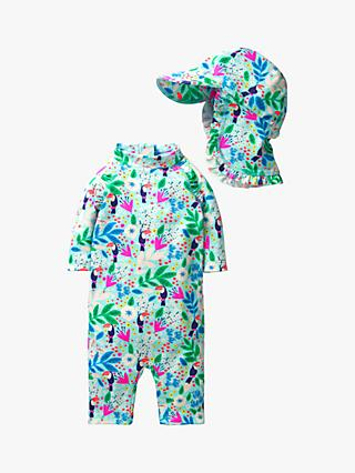 41e2441ccf Mini Boden Baby Jungle Surf Swim Surf Set, Multi Toucan Garden