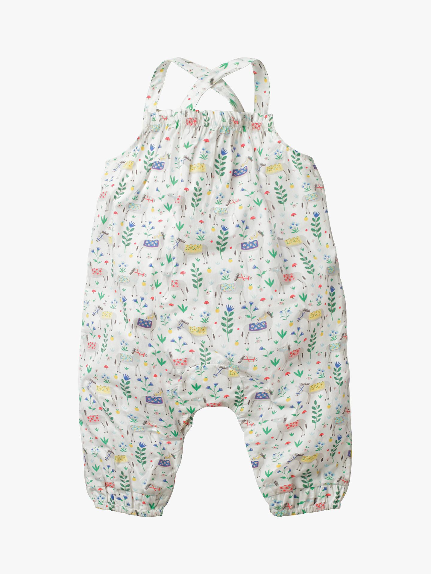 3b3dda454 ... Buy Mini Boden Baby Smocked Floral Playsuit, Multi, 0-3 months Online  at ...
