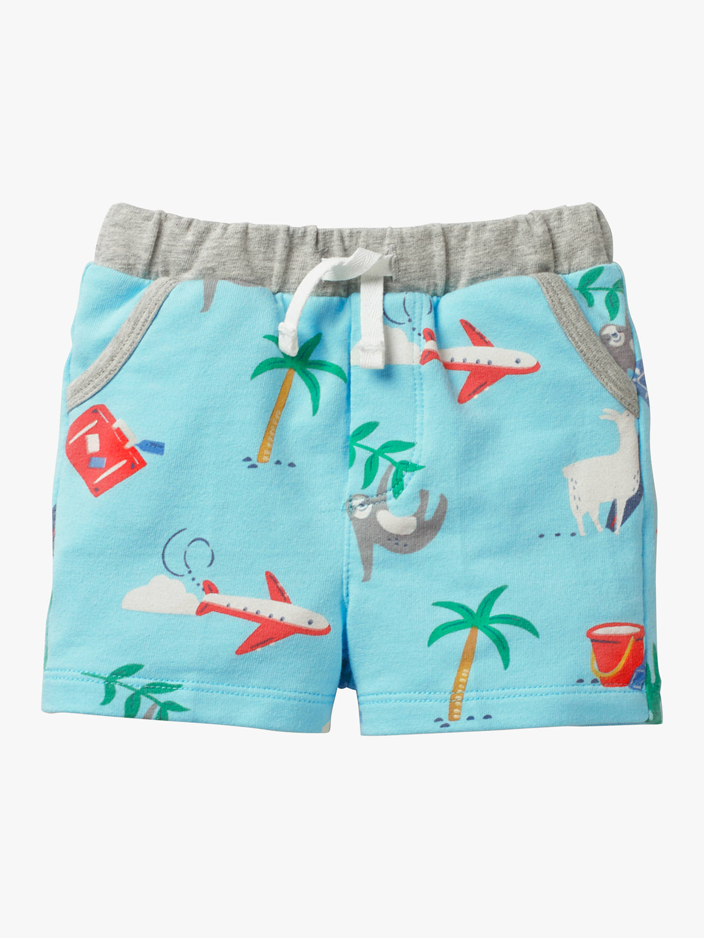 2fcaeadb6 Buy Mini Boden Baby Fun Holiday Jersey Shorts, Multi, 0-3 months Online ...