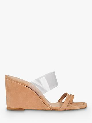 Whistles Thayer Leather Perspex Wedges
