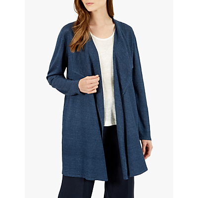 Jaeger Waterfall Linen Cardigan