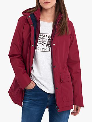 Barbour Crest Waterproof Hooded Jacket