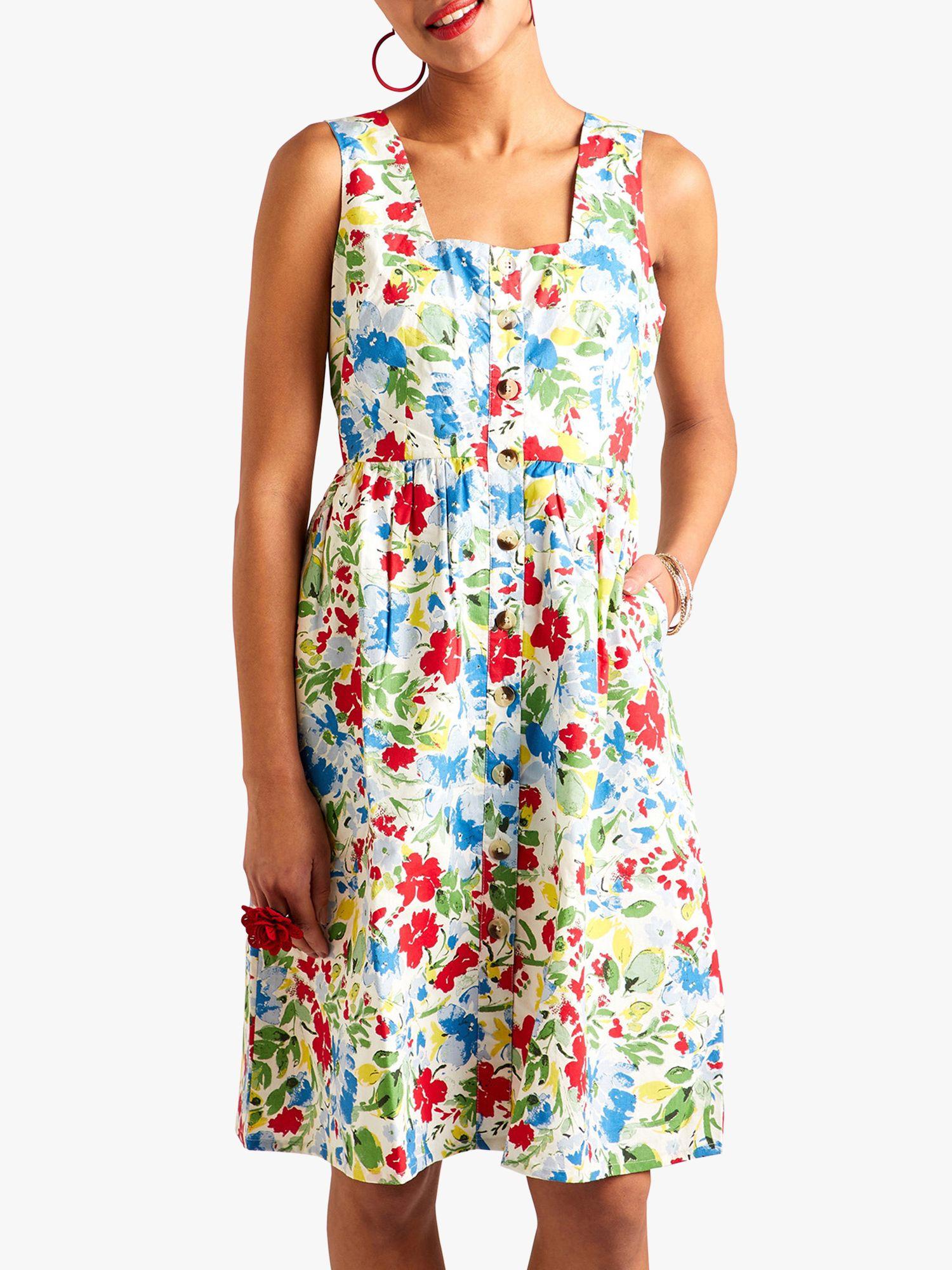 Yumi Yumi Country Floral Summer Dress, Multi