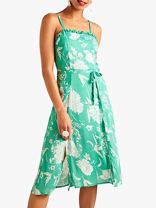 4a3e9cd3b4c Yumi Floral Tie Waist Dress