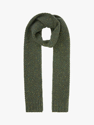 Buy John Lewis & Partners Donegal Moss Scarf, Green, One Size Online at johnlewis.com