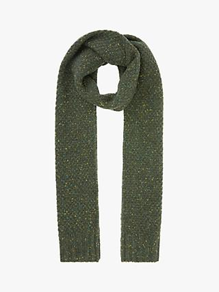 John Lewis & Partners Donegal Moss Scarf