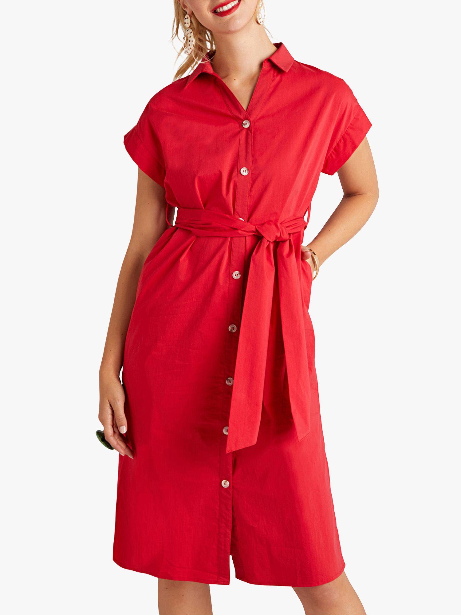 Yumi Yumi Utility Shirt Dress