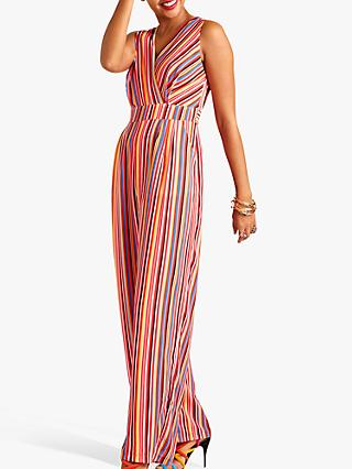 Yumi Rainbow Print Sleeveless Jumpsuit, Multi