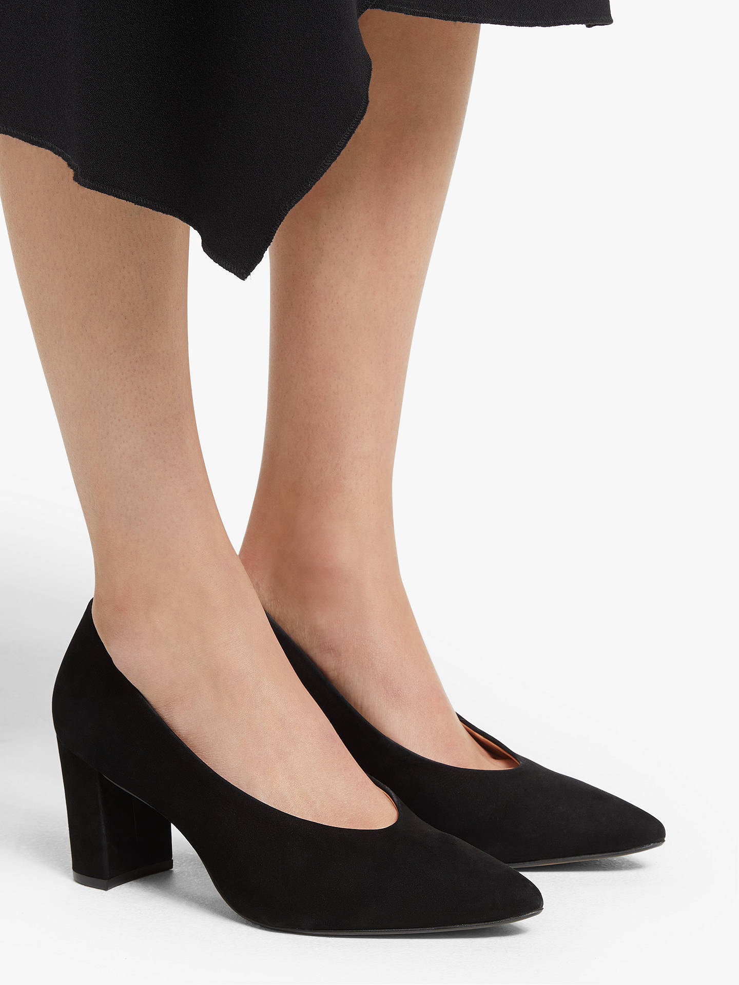 Buy John Lewis & Partners Alannah Court Shoes, Black, 8 Online at johnlewis.com