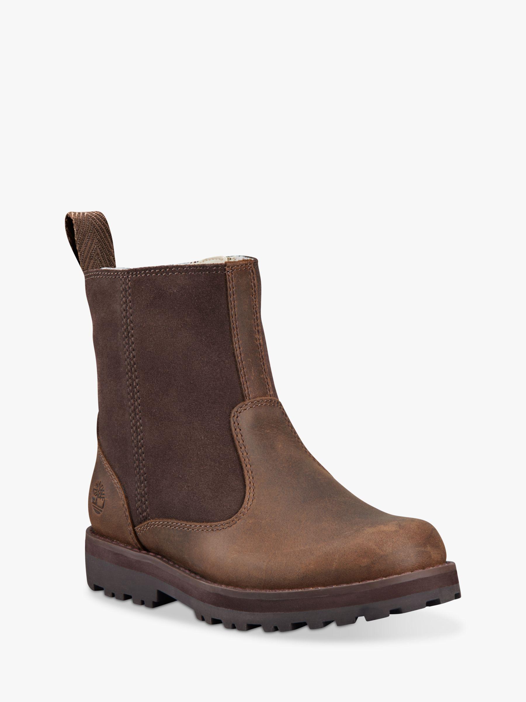 Timberland Children's Courma Kid Warm Boots, Dark Brown