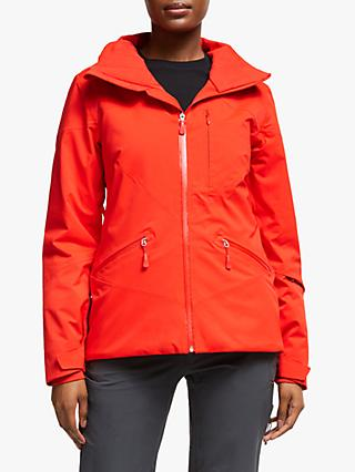 The North Face Lenado Women's Waterproof Ski Jacket, Fiery Red