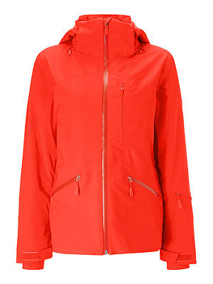Buy The North Face Lenado Women's Waterproof Ski Jacket, Fiery Red, S Online at johnlewis.com