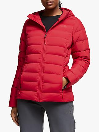 The North Face Stretch Down Women's Jacket, TNF Red