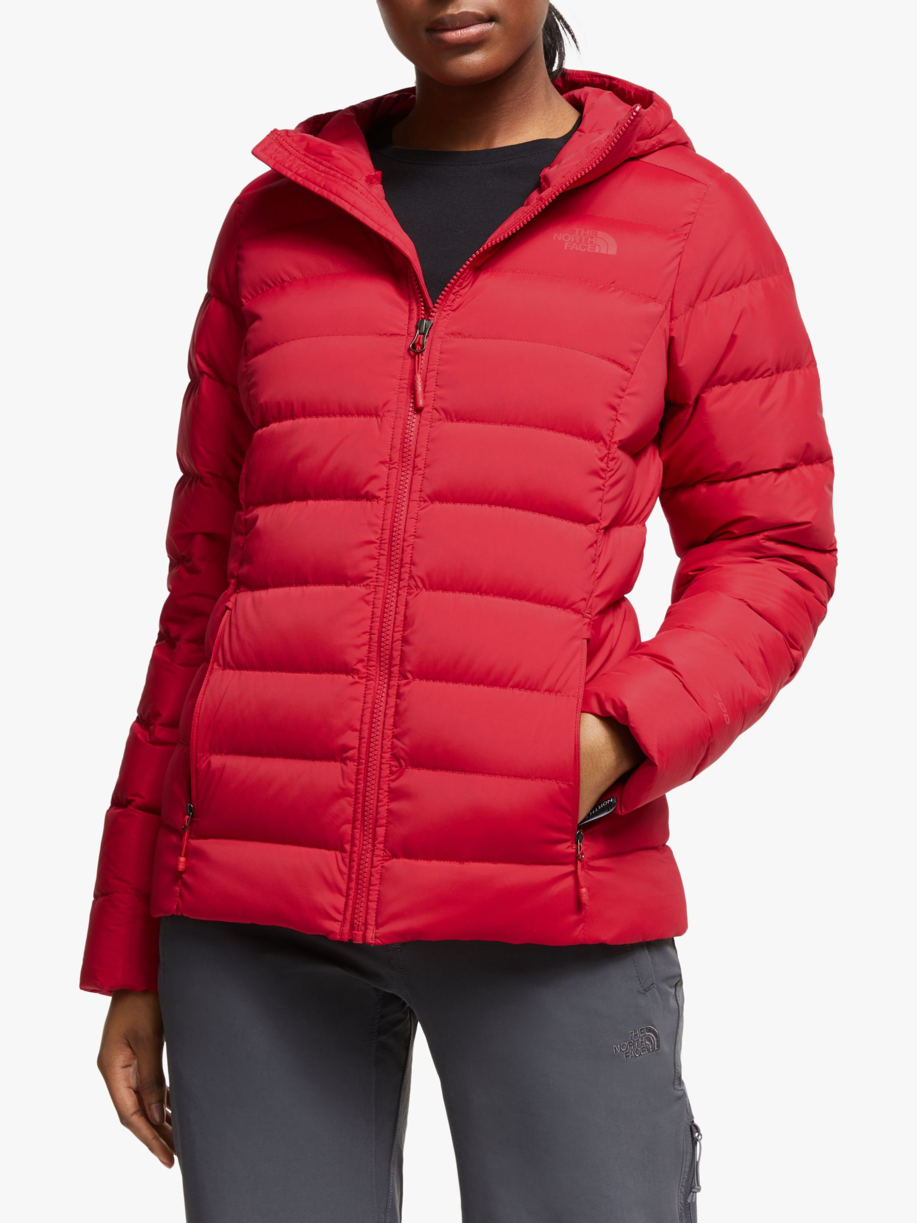 The North Face The North Face Stretch Down Women's Jacket, TNF Red