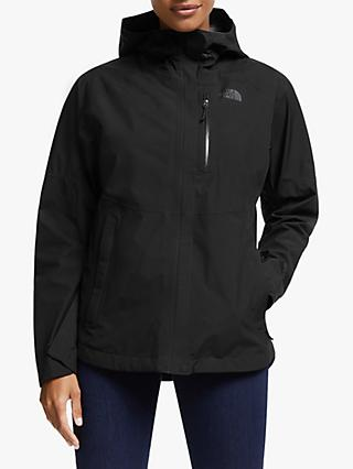 The North Face Dryzzle Packable Women's Waterproof Gore-Tex Jacket, TNF Black