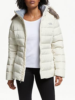 The North Face Gotham II Down Women's Waterproof Jacket, Vintage White
