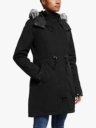 The North Face Zaneck Hooded Women's Parka Jacket, TNF Black