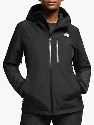 The North Face Descendit Women's Waterproof Ski Jacket, TNF Black