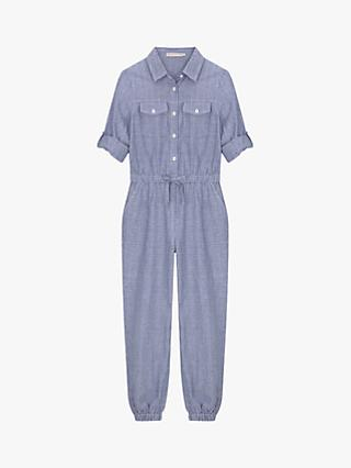 f2b023dd75d450 Mintie by Mint Velvet Girls  Chambray Jumpsuit