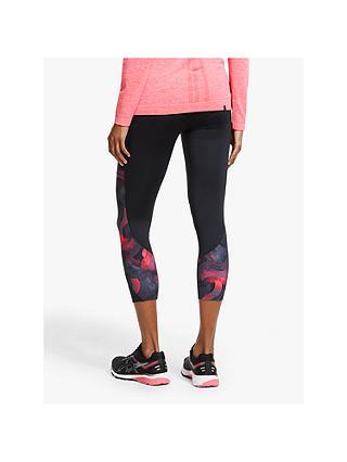 Black Ronhill Momentum Reversible Womens Long Running Tights