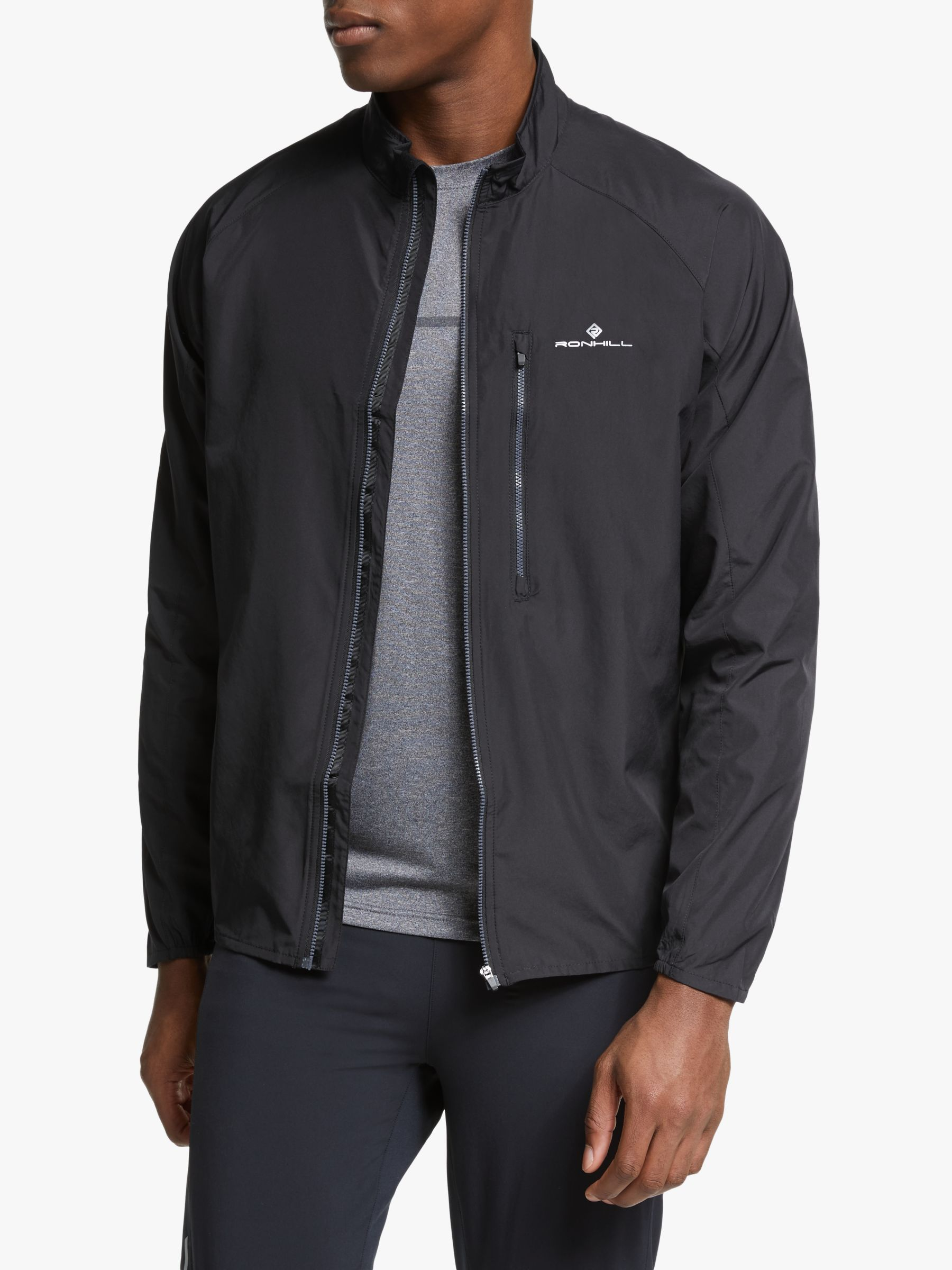 Ronhill Ronhill Everyday Men's Running Jacket, All Black