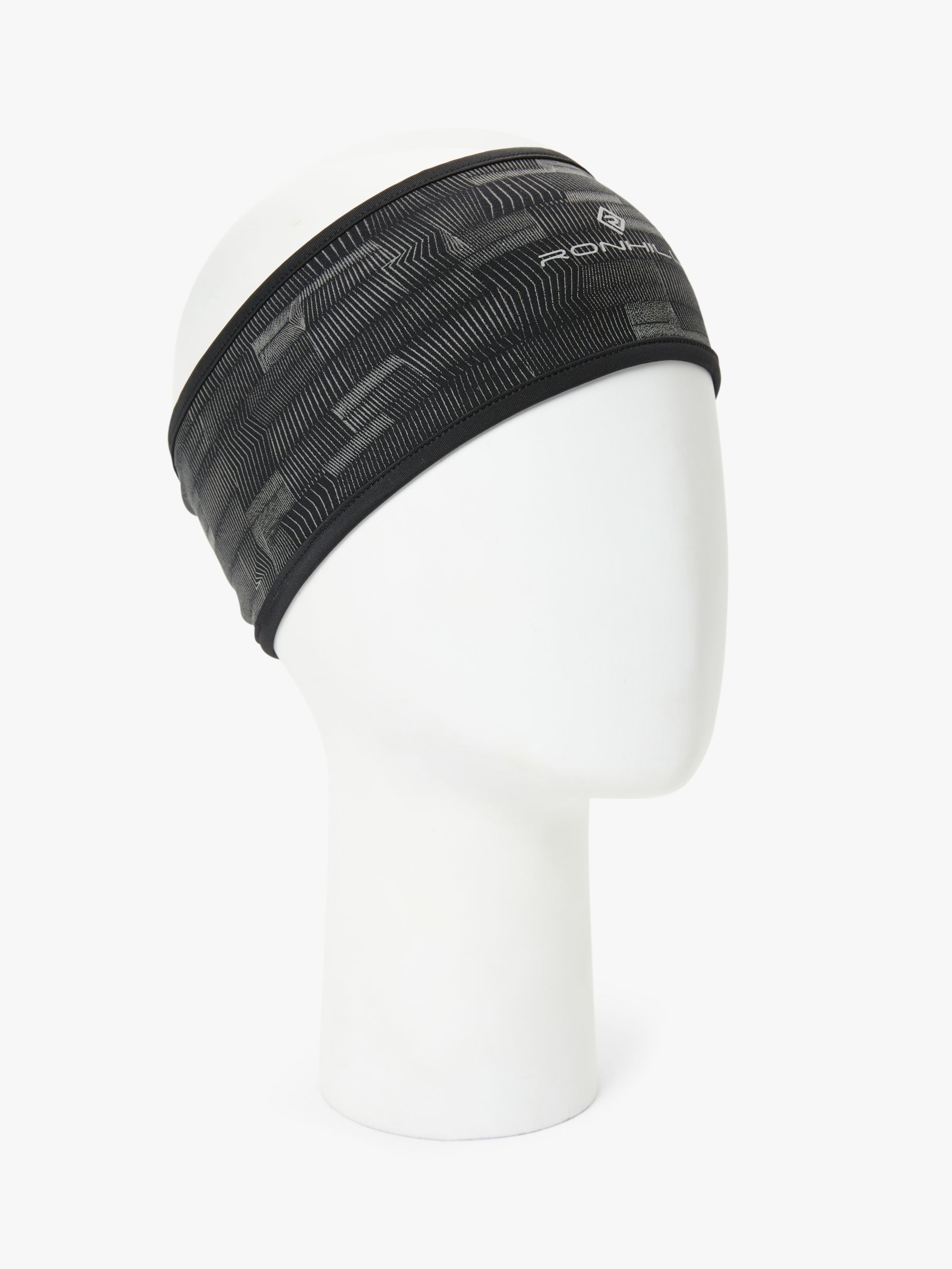 Ronhill Ronhill Afterlight Headband, Black/Reflect